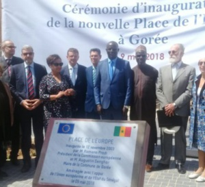 """""""Non à une Place de l'Europe à Gorée"""": Un collectif voit le jour"""