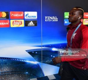 Real Madrid v Liverpool: UEFA Champions League Final: L'arrivée de Sadio Mané