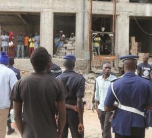Deux peintres chutent mortellement du 5e étage au centre ville de Dakar