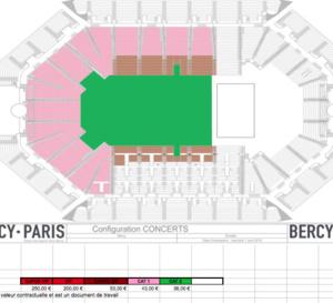 BERCY LE 13 OCTOBRE avec Pape Diouf à Accor Hotel Aréna Paris Bercy, voici les prix des tickets disponibles sur le site de accorhotelaréna et FNAC.