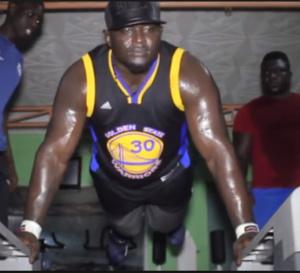 Modou Lô Vs Balla Gaye 2: Le lions de Guediawaye pète la forme, dévoile un physique d'athlète.