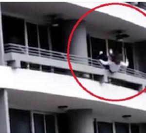 Elle chute du 27e étage en prenant un selfie, la vidéo de l'horreur !