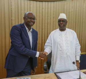 Photos : les coulisses de la visite de Moussa Sy à Macky Sall au Palais