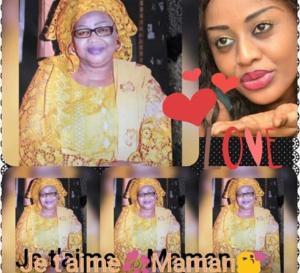Cnfession de l'ancienne Miss Sénégal 2012 Penda Ly aprés la disparition de sa mére sur sa page facebook/