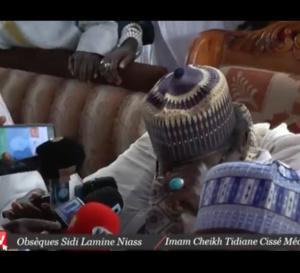 Vidéo : La déclaration de Médina Baye aux obsèques de Sidy Lamine Niasse