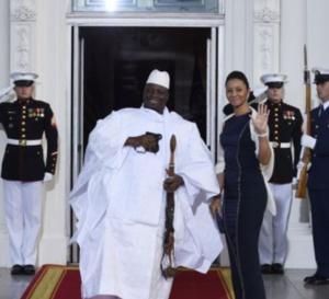 L'ex-président gambien Jammeh, sa femme et ses enfants interdits d'entrée aux Etats-Unis