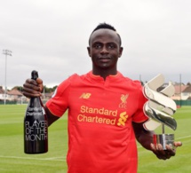 Liverpool : Sadio Mané élu footballeur du mois