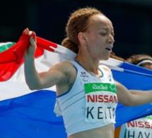 Nantenin Keita, la fille du célèbre chanteur malien Salif décroche la médaille d'or sur 400 m T13 au Jeux paralympiques de Rio