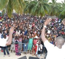 Concert beach show, Pape diouf explose voile D'or ce dimanche. REGARDEZ
