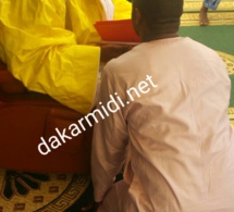 Adama Bèye a effectué sa « ziara » auprès de Serigne Abdou Karim Mbacké et lui a présenté sa société « AB Corporation »