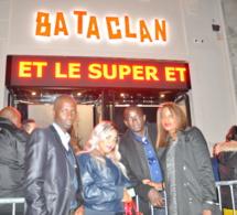 Dame Dieng PDG ALLO INFORMATIQUE et son épouse Amira en compagnie Mara digne au Bataclan.