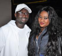 Thiané Faye, la fille de Mbaye Dieye Faye avec son mari Abou Gueye au Bataclan