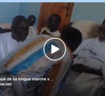 Vidéo: A l'issue de sa longue marche vers Touba, Talla Sylla reçu par le Khalif général des Mourides, Serigne Sidy Mokhtar Mbacké
