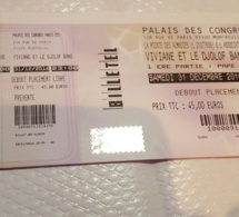 31 Decembre au Palais des congrés de Montreuil avec Viviane chidid, les billets sont déjà disponibles au Pointe des Almadies 14 Rue Chabrol 75010 Paris.