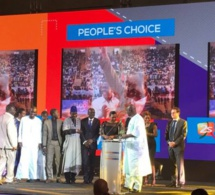 Quelques Images – Cérémonie de remise de trophées 2STV a gagné The people choice awards du Eutelsat Tv Awards….