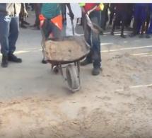 Saint-Louis : un homme se suicide en se jetant sous le compacteur de goudron