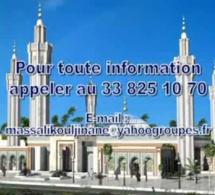 18 Photos, vidéos: Conférence de presse sur les travaux de finitions et d'embellissements de la mosquée Massalik Djinnan