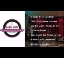 Le nouveau coin adoré de la jet set café Chic vous accueille aux Almadies