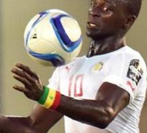 Sadio Mané ouvre le score pour le Senegal sur pénalty face à la Tunisie.Senegal 1 Tunisie 0