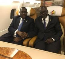 Le grand Maître WAR,avec le Président Macky Sall au Mali ce weekend.
