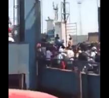 Gambie : la vidéo qui fait peur …Regardez