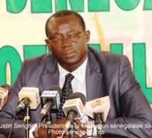 Augustin Senghor confiant pour l'avenir et remercie les joueurs pour leur détermination