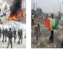 Emeutes à Saraya, après le meurtre d'un orpailleur: le poste des Douanes et la brigade de gendarmerie incendiés
