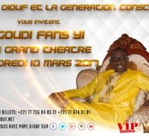 LE 10 MARS, Pape Diouf à la rencontre de ses fans au grand théâtre.