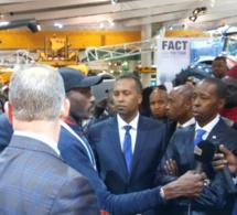 Ckeikh Amar Président de HOLDING AMAR et son vice président Kader Ndiaye au Salon de l'agriculture à Paris.
