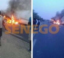 Urgent: Choc entre un minicar et un camion citerne de carburant: aucun survivant, tous morts calcinés