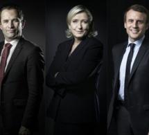 """Ce sondage post """"Grand Débat"""" ne va pas plaire à Hamon, mais beaucoup à Mélenchon et Macron"""