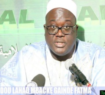 """Après avoir rendu visite au maire de Dakar, Cheikh Abdoul Ahad Mbacké Gaïndé Fatma réagit: """"Je vais prier pour Khalifa Sall, c'est mon ami ..."""""""
