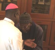L'Eglise Sénégalaise à Tivaouane: Le Khalife général des Tidianes salue le geste