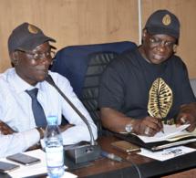 CAURIS D'OR:Réunion technique, le PDT Mbagnick Diop et son staff pour les réglages sur la communication de la 13 éditions