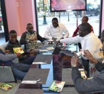 """JOUR J- 10: L'Association des étudiants de Rabat dans les préparatifs du """"GRAND BÉGUÉ"""" de Casablanca le 08 Avril avec Pape Diouf. Regardez"""