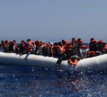 Naufrage d'un bateau de migrants en Méditerranée: 146 disparus, 1 Gambien seul survivant