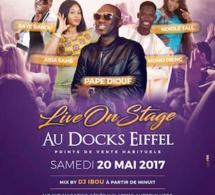 Le 20 Mai au Dock Eiffel réservez vos billets: NANGA DEF TOUR SOIREE PAPE DIOUF/AIDA SAMB/ETC....