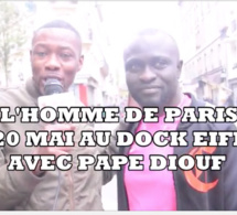 JOURJ - 01 GAP de Paris et Babs coiffure se mobilise pour le 20 mai au Dock Eiffel de Paris avec Pape Diouf.