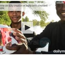 """Vidéo: Nadège, l'ex-femme de Djily création et Waly Seck s'invitent dans la rubrique people de """"Petit Déj"""""""