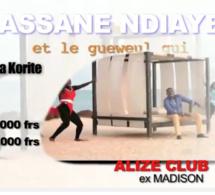 "SPECIAL KORITE AVEC ASSANE NDIAYE ET LE ""NGEWEUL GUI"" À L'ALIZE CLUB"