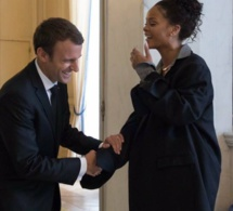 Visite de Rihanna à l'Élysée : la photo qui France