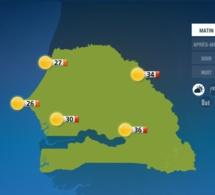 """METEO: Les conditions atmosphériques de """"moins en moins favorables à des manifesttations pluvieuses"""" à partir de lundi (ANACIM)"""
