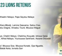 Éliminatoires Mondial 2018: Liste des 26 lions retenus par Aliou Cissé