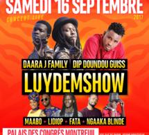 "RAKHOU PROD présente ""LUYDEMSHOW"" le 16 Septembre à Paris avec Dara Dji, Dip, Ngaka Blinde, Fata"