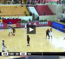 """Vidéo – Afro Basket 2017 : les """"Lionnes"""" écrasent la Guinée 105-39 !"""