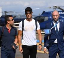 Arrivée de Cristiano Ronaldo, Messi, Modrić et Ramos à Monaco pour …