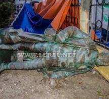 La statue de Faidherbe tombe naturellement ce 5 septembre 2017