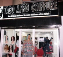 Admirez les belles dames avec Taco Afro Coiffure qui atterrit à Ouest Foire de Dakar