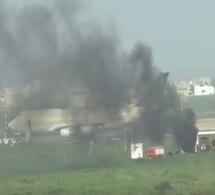 Vidéo – Urgent – Incendie à l'Aéroport Lss