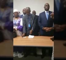 VIDÉO: U.S.A ,Macky salle boude le meeting á cause des insultes d'une …